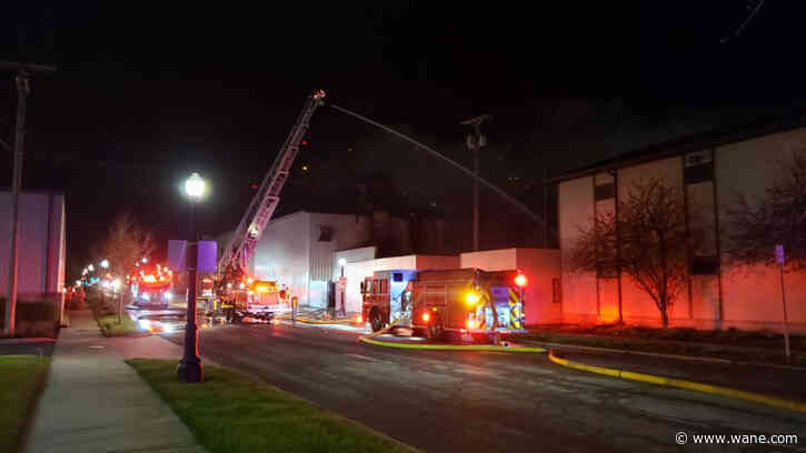 FWFD responding to fire at industrial complex on city's east side