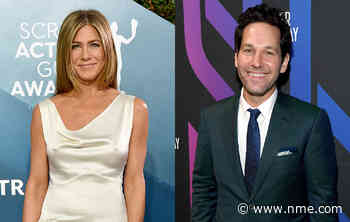 """Jennifer Aniston shares birthday tribute to Paul Rudd: """"You don't age"""" - NME"""