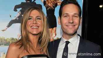 Jennifer Aniston Celebrates Ageless Paul Rudd in Sweet 52nd Birthday Post - Entertainment Tonight