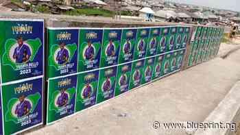 2023: GYB posters flood Yenagoa, Portharcourt, Warri - Blueprint newspapers Limited