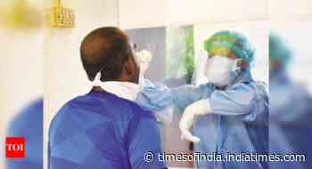 Goa ramps up testing after 500+ cases for 2 days running - Times of India