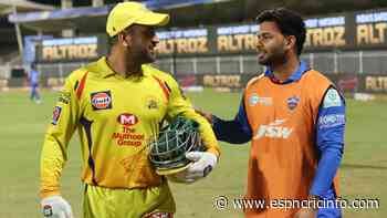 It's Pant vs Dhoni as Super Kings try to fight off ring rust