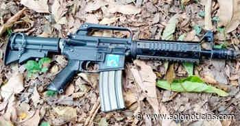Incautan armas a pandilleros de la MS en Sensuntepeque - Solo Noticias