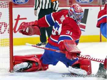 Canadiens' Carey Price won't make trip to Toronto with team - Montreal Gazette