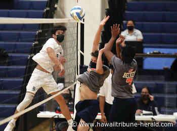 BIIF volleyball: Error-prone Kamehameha shakes off rust in return - Hawaii Tribune-Herald