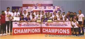 Help Nepal, New Diamond win volleyball titles - The Himalayan Times