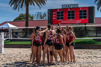 Beach volleyball heading back to the desert - The Stanford Daily