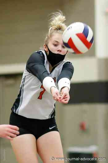 Sterling volleyball storms back with top-15 win - Journal Advocate