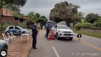 Conceição de Macabu instala barreiras sanitárias nos acessos da cidade - G1