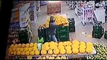 Supermercado é assaltado em Jandaia do Sul - Jandaia Online