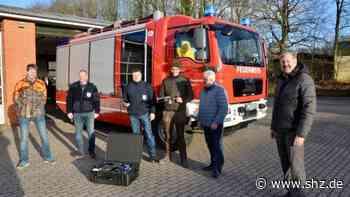 Fahrdorf: Bürgermeister Frank Ameis: Freude über Drohne zur Rettung von Mensch und Tier   shz.de - shz.de