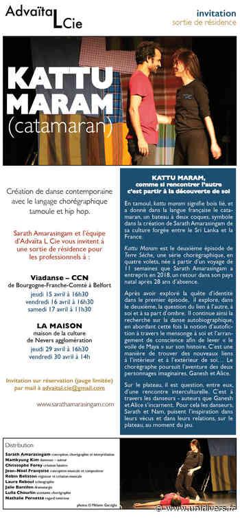 KATTU MARAM (Catamaran) Centre chorégraphique national de Bourgogne Franche-Comté à Belfort jeudi 15 avril 2021 - Unidivers