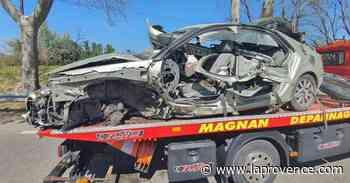 Accident entre Sénas et Mallemort : trois personnes gravement blessées, un enfant de 8 ans héliporté - La Provence