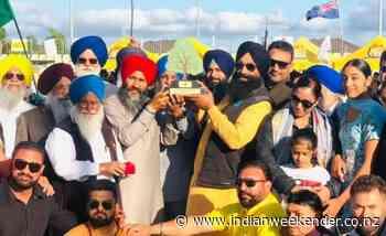 Virender Singh Bralli honoured as the doyen of Kabaddi in New Zealand - Indian Weekender