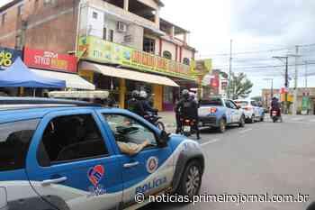 Forças de segurança atuam para garantir cumprimento de medidas restritivas em Itamaraju - PrimeiroJornal - PrimeiroJornal
