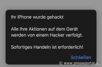 POL-RBK: Rheinisch-Bergischer Kreis - Tendenz steigend: Polizei RheinBerg warnt vor betrügerischen Paket-SMS - Presseportal.de