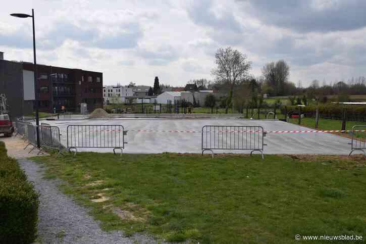 """Aanleg skatepark en beachvolleyballterreinen gestart: """"Hopelijk klaar tegen 1 mei"""""""