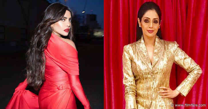 Priyanka Chopra Jonas opens up about her love for Sridevi