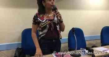 Lauro de Freitas: Vereadora pede desculpas e condena divulgação de imagem íntima; edil esqueceu câmara ligada que mostrou seios - Bahia Notícias