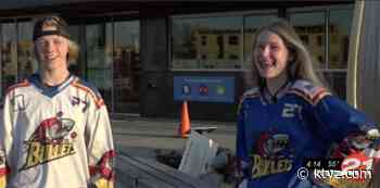 Bend roller hockey players hope to see teammates do well at ice hockey tourney - KTVZ