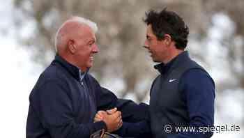 Masters in Augusta: Golfstar McIlroy trifft mit einem Schlag seinen Vater - DER SPIEGEL