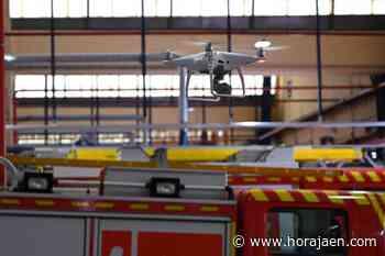 Los bomberos de Linares ya cuentan con un dron para mejorar la seguridad del distrito minero - HoraJaén