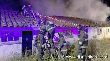 Linares: Incendios destruyen dos viviendas en Palmilla y Vara Gruesa - Diario El Heraldo Linares