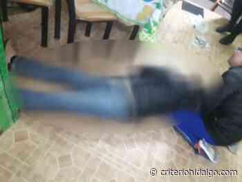 Hombre fue asesinado con arma de fuego en Apan - Criterio Hidalgo