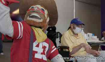 Santa Clara County teams up with 49ers to vaccinate Special Olympics athletes - East Bay Times