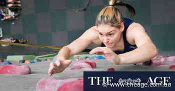 After preparing for the Games in the garage, Tokyo looms for Aussie teen sport climber - The Age