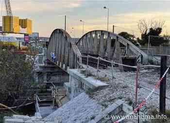 Marignane : le pont des Florides enlevé cette nuit - Marignane - Vie des communes - Maritima.info