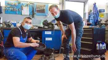 Achim: Syrischer Flüchtling schließt erfolgreich Ausbildung zum Kfz-Mechatroniker ab - kreiszeitung.de