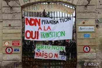 Yvelines. Thiverval-Grignon : les étudiants lèvent le blocus de Grignon - actu.fr