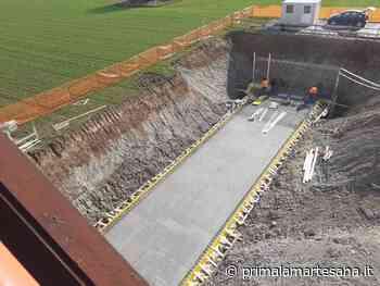 A Bussero ci si prepara a scavare il tunnel pedonale sotto la metropolitana - Prima la Martesana