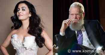 """When Aishwarya Rai Bachchan Gave A 'Mic Drop' Reply To David Letterman's Ignorant Question Of """"Do You Still Live With Your Parents?"""" - Koimoi"""
