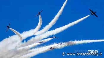 Le Frecce Tricolori tornano a volare: spettacolo e acrobazie sopra i cieli bresciani - BresciaToday