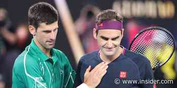 Roger Federer attacked Novak Djokovic as kid, dad claims with no proof - Insider