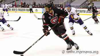 St. Cloud State advances to its first national hockey title game - Minnesota Public Radio News