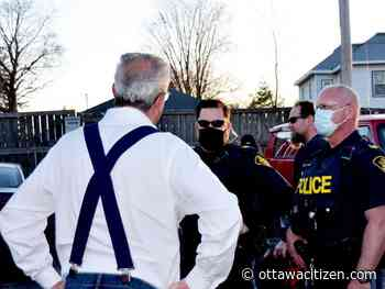 Charges expected after anti-mask event in Kemptville