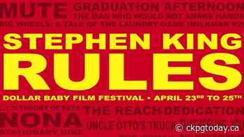 Local film company to host a Stephen King film festival - CKPGToday.ca