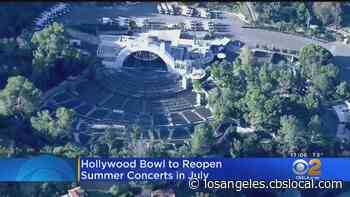Hollywood Bowl To Reopen In May With 4 Concerts For Essential Workers - CBS Los Angeles