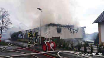 Baunatal: Wohnhaus stürzt teilweise nach Brand ein - HIT RADIO FFH