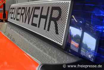 Ermittler vermutet Brandstiftung: Lkw in Frankenberg abgebrannt - Freie Presse