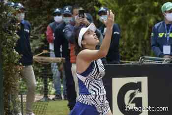 Maria Camila Osorio vence uma top 100 pela primeira vez e está nos 'quartos' em Bogotá - Raquetc