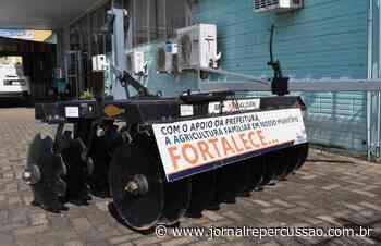 Nova Hartz adquire grade aradora para fortalecer agricultura local - Jornal Repercussão