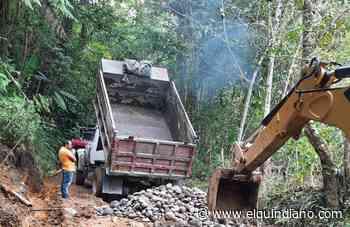 Gobierno de Salento previene y mitiga daños por el invierno en vías rurales - El Quindiano S.A.S.