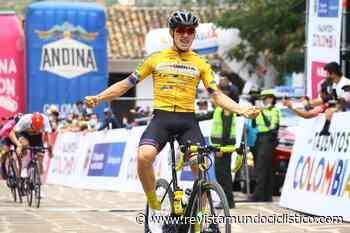 Germán Darío Gómez vence con autoridad en Barichara. Jesús David Peña sigue líder de la Vuelta de la Juventud - Revista Mundo Ciclistico