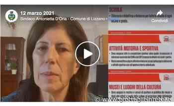 Covid-19 provincia di Taranto: oltre 50 casi attualmente positivi a Lizzano - Gir Grottaglie in rete   Blog - Grottaglie in rete
