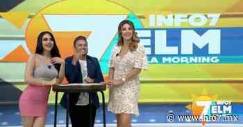 En La Morning: Antonella Michelena de visita en el estudio - INFO7 Noticias