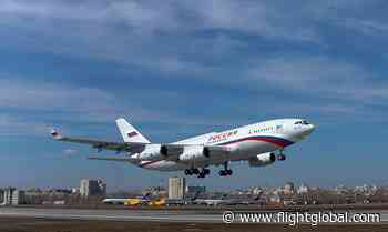 Latest Il-96-300 conducts maiden flight from Voronezh | News - Flightglobal